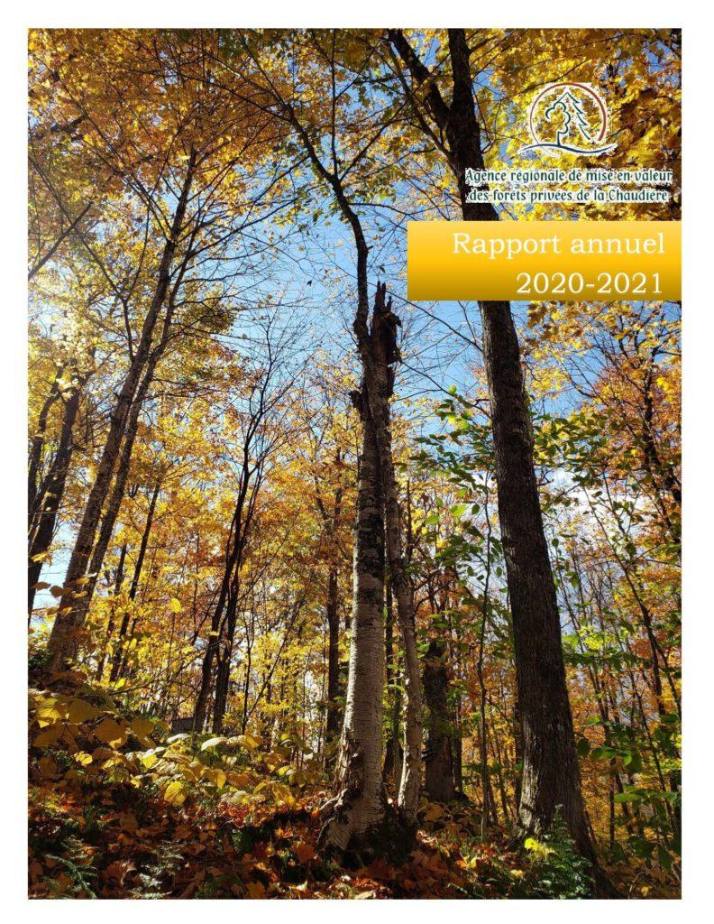Page titre Rapport annuel